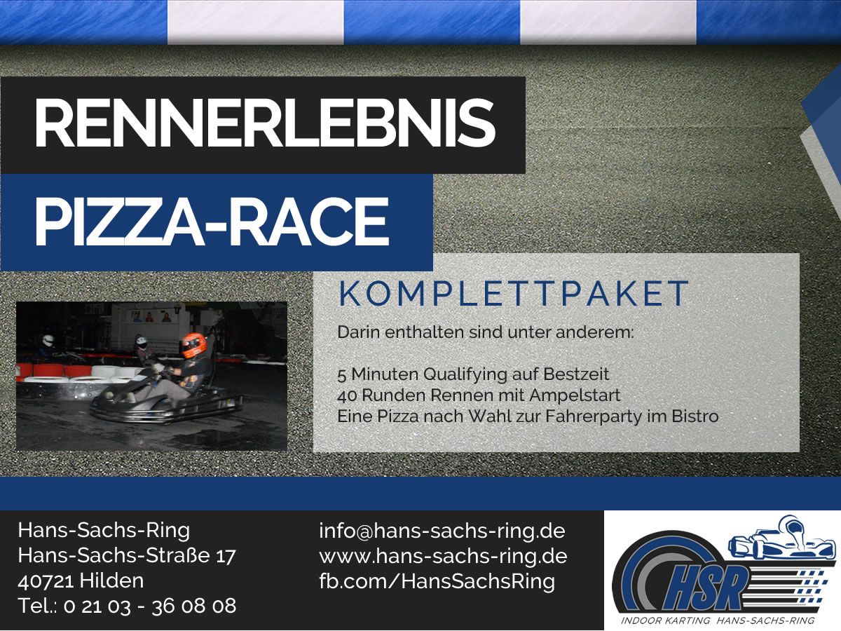 Angebot Pizza-Race